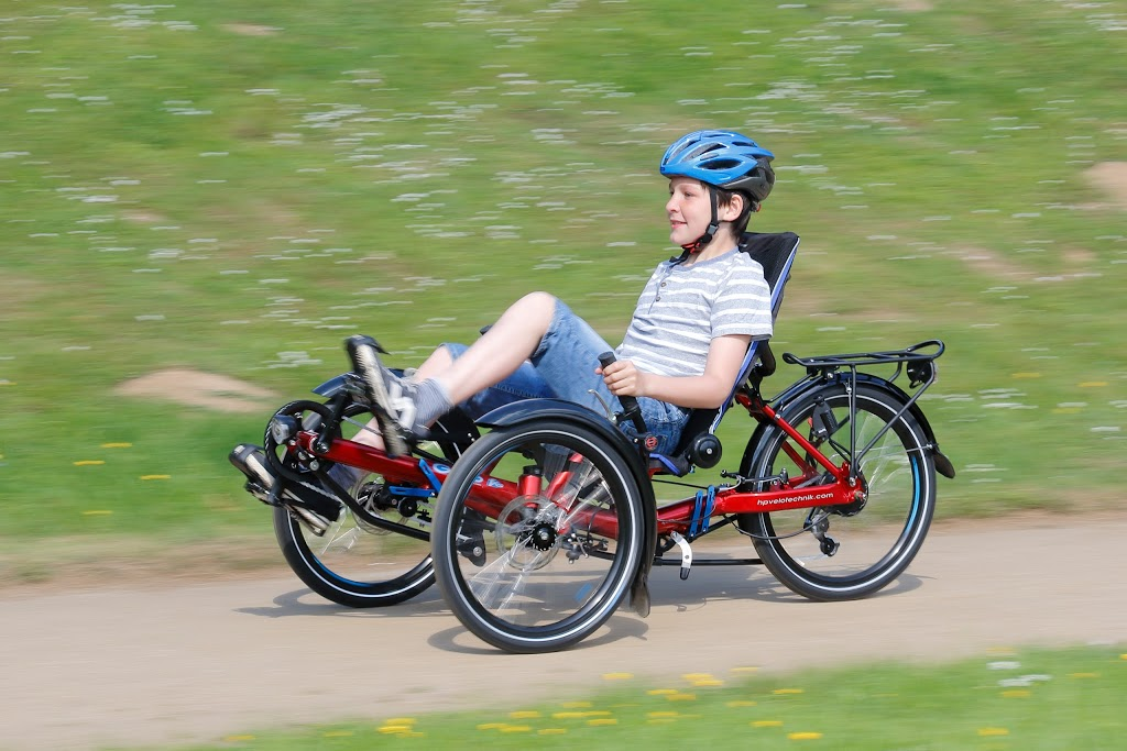 Tricycle pour enfant HPvelotechnik avec option handicape.