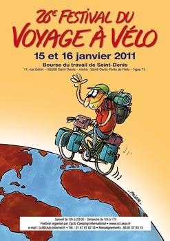 Festival du Voyage à Vélo, de nombreux films projetés.