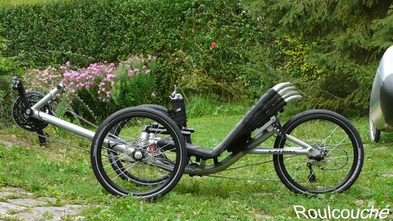Nouveau tricycle couché Catrike