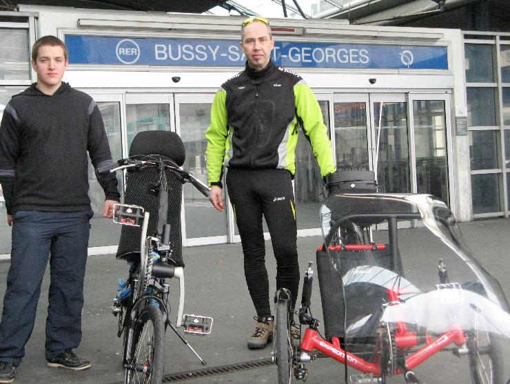 Futur tricycle électrique de l'IUT