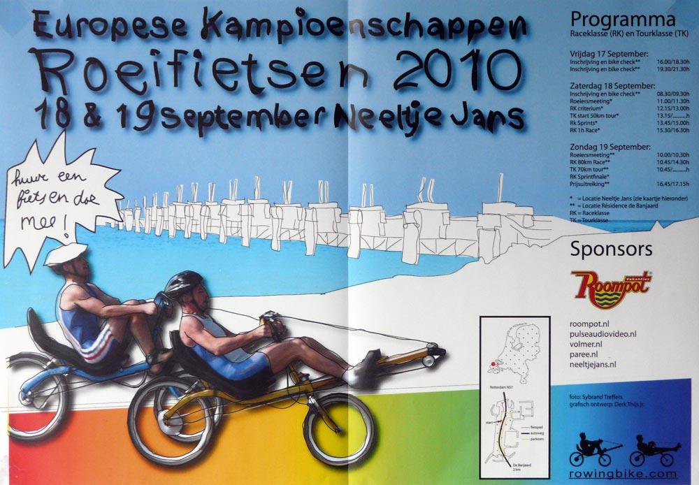 championnat d'europe de vélos rameurs couchés