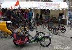 Le Stand Roulcouché au Féstival du Voyage à vélos