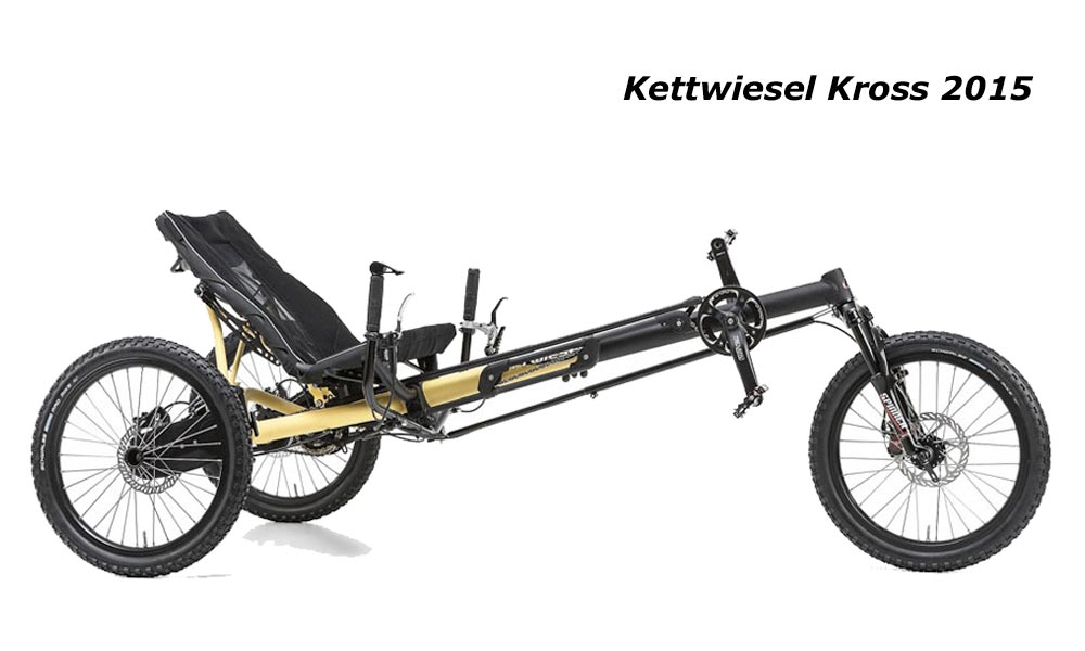 kettwiesel Hase tricycle adulte pour le tout terrain