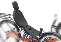 Le siege Bodylink tricycle couché HP Velotechnik