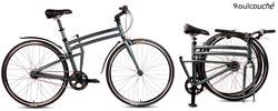 vélo pliant en 2x700